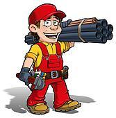 Handyman - Plumber Red