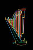 Harp sketch
