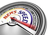 news speed conceptual meter