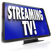 Streaming TV HDTV Set Online Internet Television Viewing