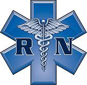 Registered Nurse Star Symbol
