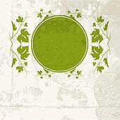 Vine leaf frame