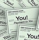 Checks Money Payment to You Income Paychecks