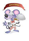 mouse waiter
