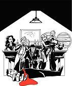Murder Mystery at the Speakeasy