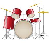 drum set illustration