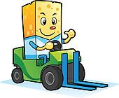 Cheese mascot characters