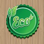 Vector eco label
