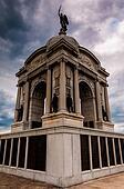 Storm clouds behind the Pennsylvania Memorial, Gettysburg