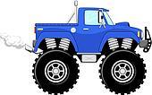 monstertruck 4x4 cartoon