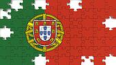 Portuguese National Flag