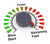3d knob - fast, faster and fastest