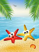 Starfish in love
