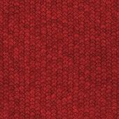 Seamless red dragon scale pattern