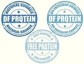 Protein-stamps