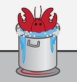 Lobster Cooking Pot