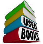 Used Books Stack Pile Selling Buying Old Textbooks Novels