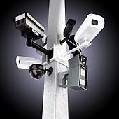 Surveillance mega camera's
