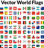 World Flags Clip Art - Royalty Free - GoGraph