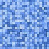 Blue square tile pattern