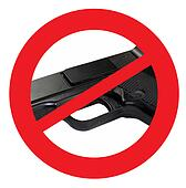 Ban Guns Sign