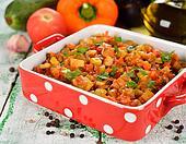 Vegetarian vegetable stew