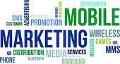 word cloud - mobile marketing