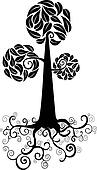 Cute tree icon