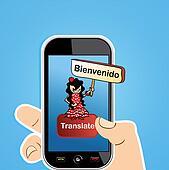 Translate app concept