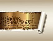 Background with Christmas greetings
