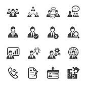 Management and Human Resource Icons