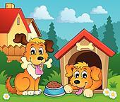 Image with dog theme 3