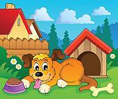 Image with dog theme 6