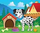Image with dog theme 8