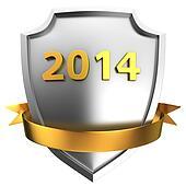Shield 2014 with ribbon