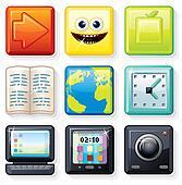 Square Menu Icons 1