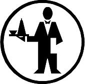 Chef icon. Illustration in vector