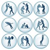 Olympic Sport Icons Set 2