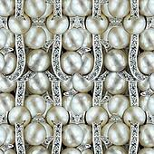 Pearl Jewelry Background.