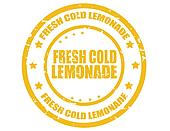 Fresh cold lemonade-stamp