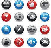 Food Icons - Set 1 -- Gel Pro Serie