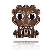 Traditional Hawaiian mask
