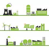 ECO power icons