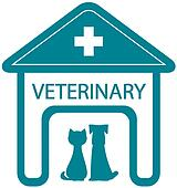 veterinary symbol with home clinic