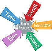 Human Resources employee hiring people