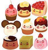 Dessert Clip Art - Royalty Free - GoGraph