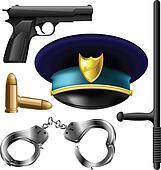 Police items set