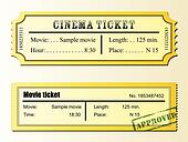 Cinema movie tickets