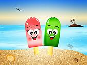 Ice lolly