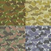 Dotted Camouflage Patterns